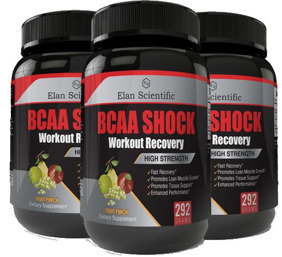 Elan Scientific BCAA Post Workout Main Bottle