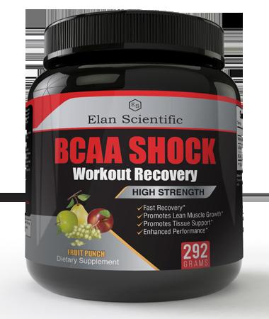 Elan Scientific BCAA Post Workout Risk Free Bottle