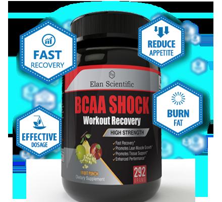 Elan Scientific BCAA Post Workout Bottle Plus