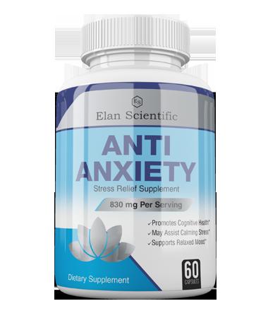 Elan Scientific Anti Anxiety Risk Free Bottle