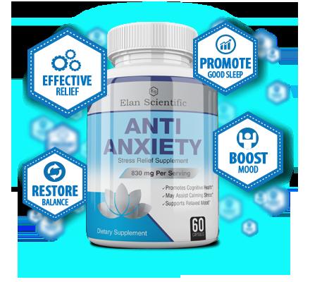Elan Scientific Anti Anxiety Bottle Plus