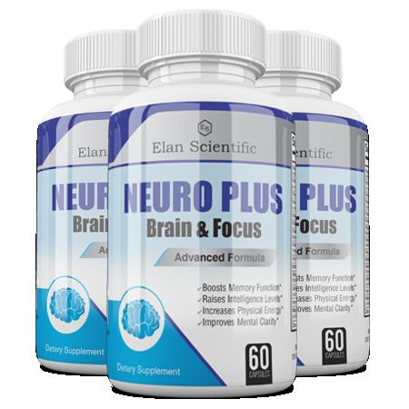 Elan Scientific Neuro Plus Main Bottle