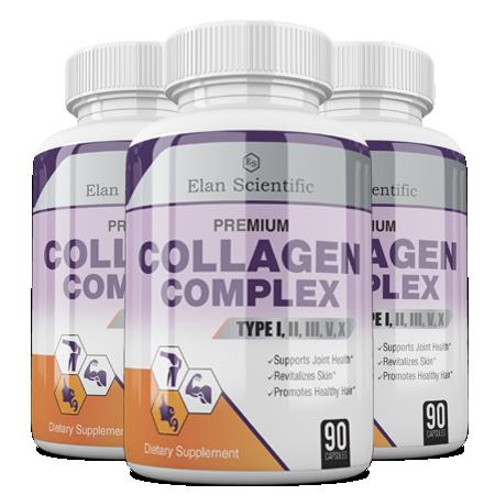 Elan Scientific Collagen Complex Main Bottle