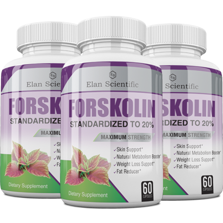 Elan Scientific FORSKOLIN Main Bottle