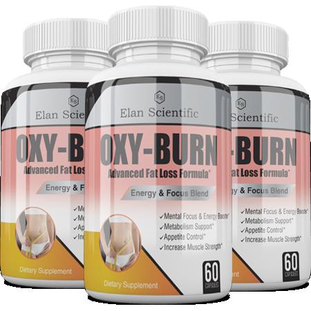 Elan Scientific Oxy Burn Main Bottle