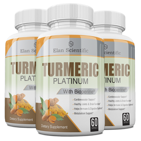 Elan Scientific Turmeric W/ Bioprene Main Bottle