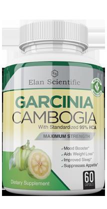 Garcinia  ingredients bottle