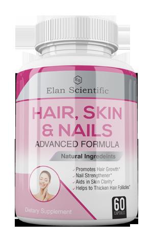 Elan Scientific Hair,skils & nails Risk Free Bottle