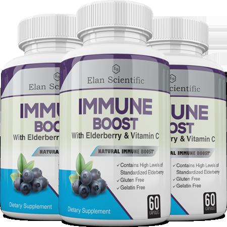 Elan Scientific Immune Boost Main Bottle